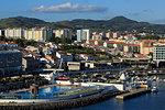 Swimming Pool, Ponta Delgada City, Sao Miguel Island, Azores, Portugal, Atlantic, Europe