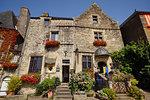 Storefront in Rochefort-en-Terre, Brittany, France