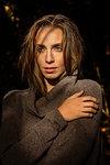 Portrait of Woman in Wool Jumper