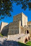 Sao Jorge Castle, Lisbon, Portugal.