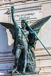 Restauradores Square (Praca dos Restauradores), Lisbon, Portugal.