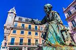 Statue of Antonio Ribeiro, Lisbon, Portugal.