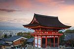 The Deva Gate, Kiyomizu-dera Temple, Kyoto, Japan, Asia