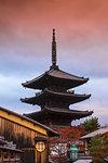 Yasaka Pagoda, Gion, Kyoto, Japan, Asia