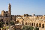 The Tower of David (Jerusalem Citadel), Old City, UNESCO World Heritage Site, Jerusalem, Israel, Middle East