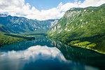 Lake Bohinj and its mountains, Slovenia, Europe