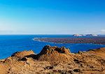 Volcanic landscape of Bartolome Island, Galapagos, UNESCO World Heritage Site, Ecuador, South America