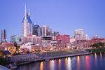 Skyline, Nashville, Tennessee, United States of America, North America