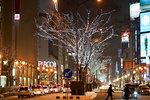 Sapporo in Winter, Hokkaido, Japan