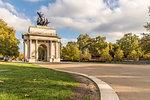 Wellington Arch on Hyde Park Corner, London, England, United Kingdom, Europe