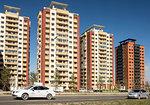 High-rise suburbs, Ulaanbaata, Mongolia, Asia