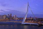 Erasmus Bridge, Rotterdam, Netherlands, Europe