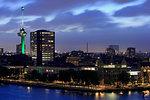 Euromast, Rotterdam, Netherlands, Europe