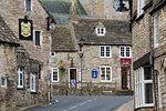 Village Square, Corfe Castle, Isle of Purbeck, Dorset, England, United Kingdom, Europe