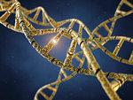 Genetic engineering, conceptual illustration.