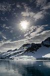Sunny day, Fuglefjorden, Spitsbergen, Svalbard, Norway