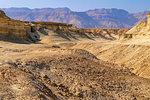Eroded cliffs made of marl, Dead Sea region, Israel