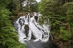 Swallow Falls on Afon Llugwy near Betws-y-Coed, Snowdonia National Park, Wales, UK