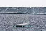 Arctic ocean and polar ice cap, Austfonna Nordaustlandet, Svalbard, Norway