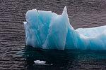 Ice floes, detail, Erik Eriksenstretet strait separating Kong Karls Land from Nordaustlandet, Svalbard Islands, Norway