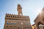 Palazzo Vecchio, Piazza della Signoria, UNESCO World Heritage Site, Florence, Tuscany, Italy, Europe