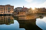 St. Trinity Bridge, Florence, Tuscany, Italy, Europe