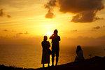 Cape Uganzaki, Okinawa Prefecture, Japan at Sunset