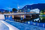 Forde Jolstra River, Forde, Norway, Scandinavia, Europe
