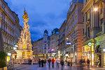 Graben Strasse, Vienna, Austria, Europe