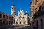 Basilica della Santa Casa, Piazza della Madonna, Loreto, Marche, Italy, Europe