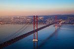 Bridge 25 of July, Lisbon, Portugal, Europe