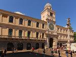The Astronomical clock, Piazza dei Signori , Padua, Veneto, Italy, Europe