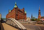 Speicherstadt and HafenCity, Hamburg, Germany, Europe