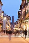 Via Roma, Montevarchi, Tuscany, Italy, Europe