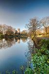 Spring at Gawsworth Parish Church, Gawsworth, Cheshire, England, United Kingdom, Europe
