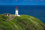 Kilauea Lighthouse, Kilauea Point, north east coast of Kauai, Hawaii, United States of America