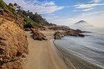 wild beach in Thassos island. Greece, Europe