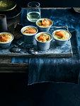 Smoked salmon souffle