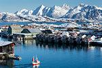 Administrative Centre, Svolvaer, Nordland, Norway