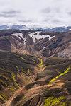 Volcanic mountains, Landmannalaugar, Highlands, Iceland