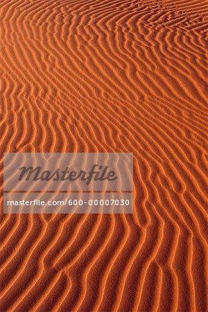 Sand Ripples Namibia