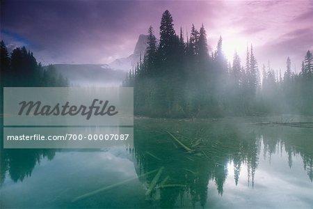 Emerald Lake Parc National de Yoho en Colombie-Britannique, Canada