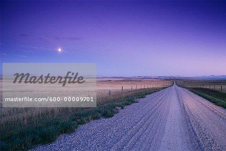 Near Pincher Creek Alberta, Canada