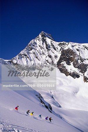 Héli-ski au Panorama Colombie-Britannique, Canada