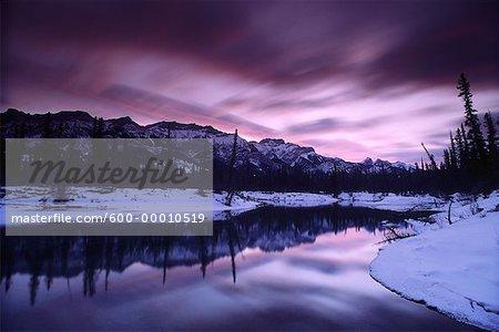 Dawn Jasper National Park Alberta, Canada