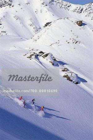 Ski de fond, Valemont en Colombie-Britannique, Canada