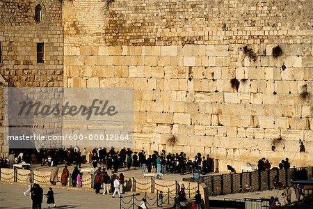 Mur des lamentations, Israël Jérusalem vieille