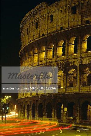 Le Colisée de Rome, Italie