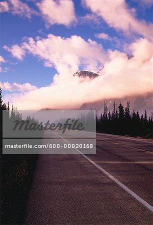 Autoroute #93 Parc National Banff, Alberta, Canada