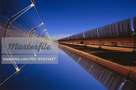 Gebogene Spiegel Focus Beam Power elektrische Dampferzeugung
